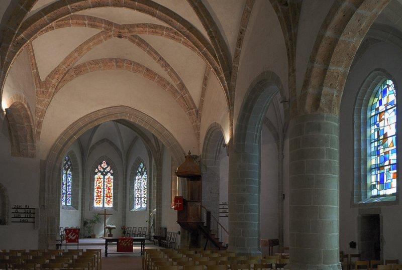 Saint Vincent Church Interior I