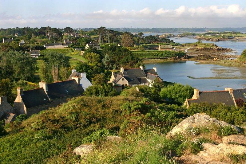 Saint-Michel view