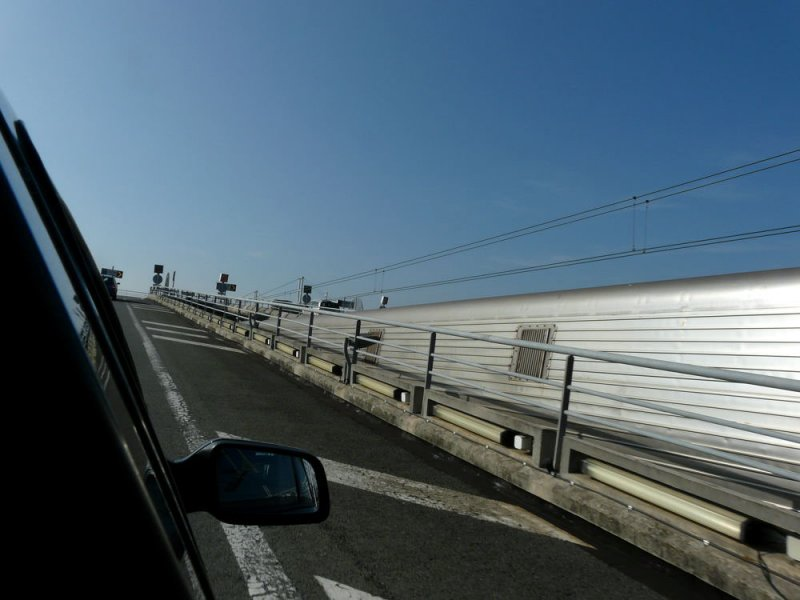 Blue skies in France