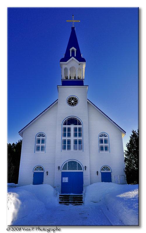 Blue Church ...
