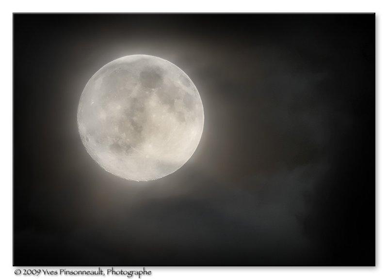Shot at the moon ...