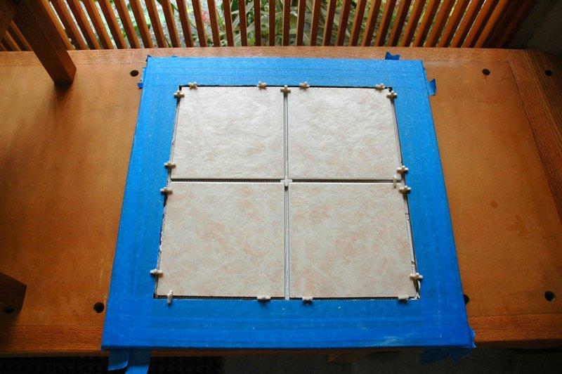 07 ceramic tile top installation