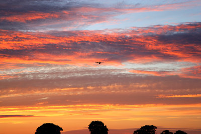 Sunset with the RAF