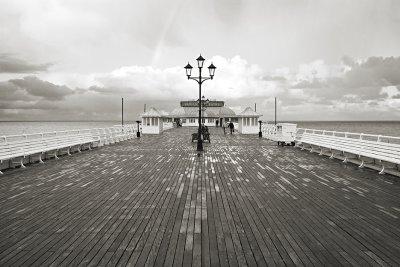 Cromer Pier in Winter