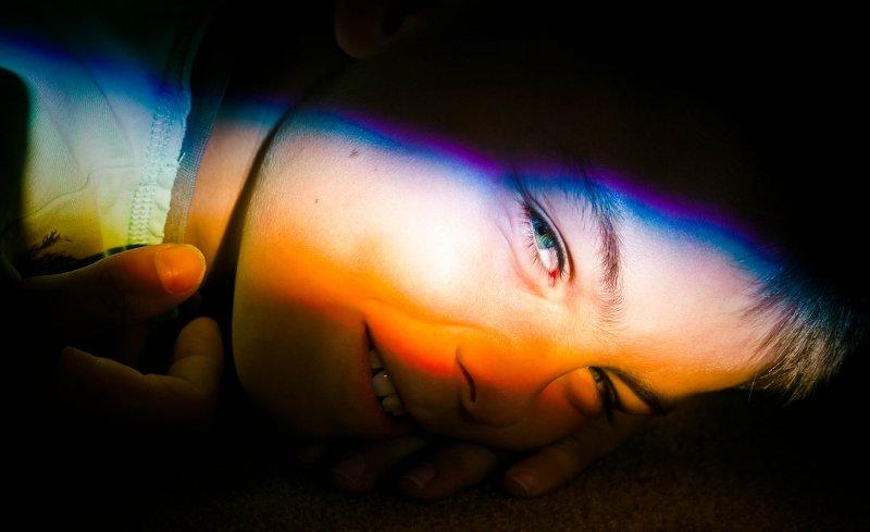 30 July - Rainbow child