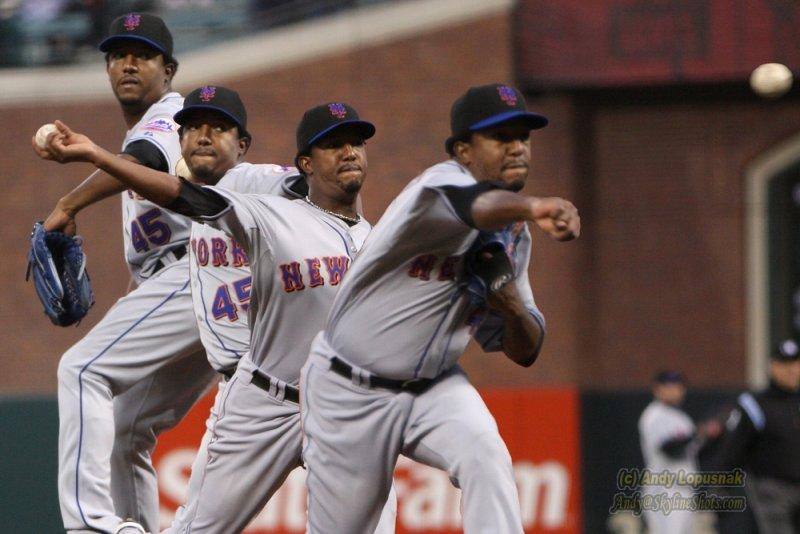 New York Mets pitcher Pedro Martinez