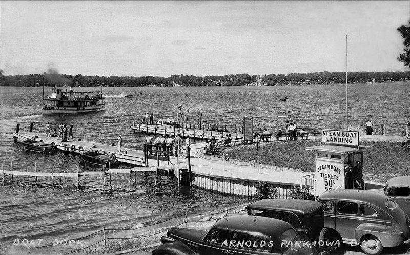 Steamboat Landing 1950s