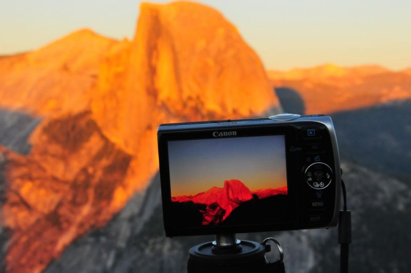 Photographing Half Dome