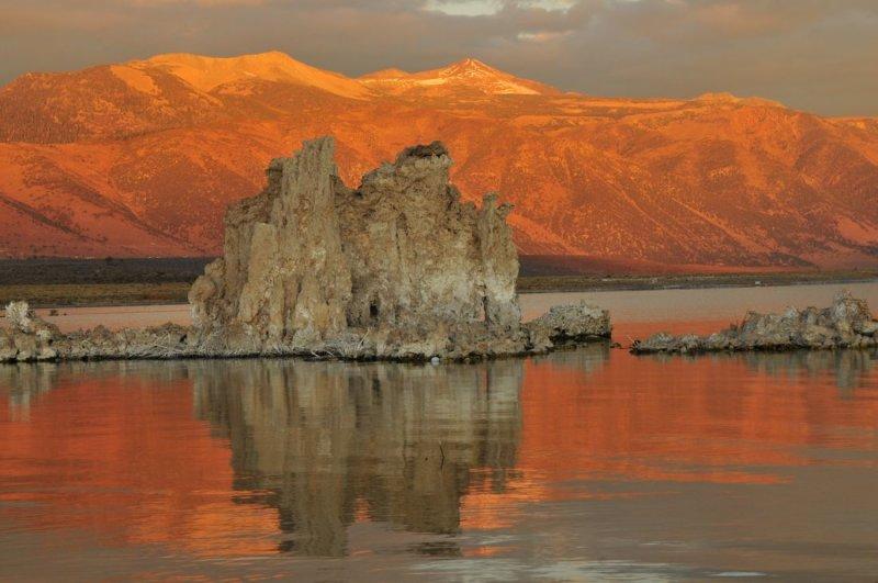 Early Morning Over Mono Lake