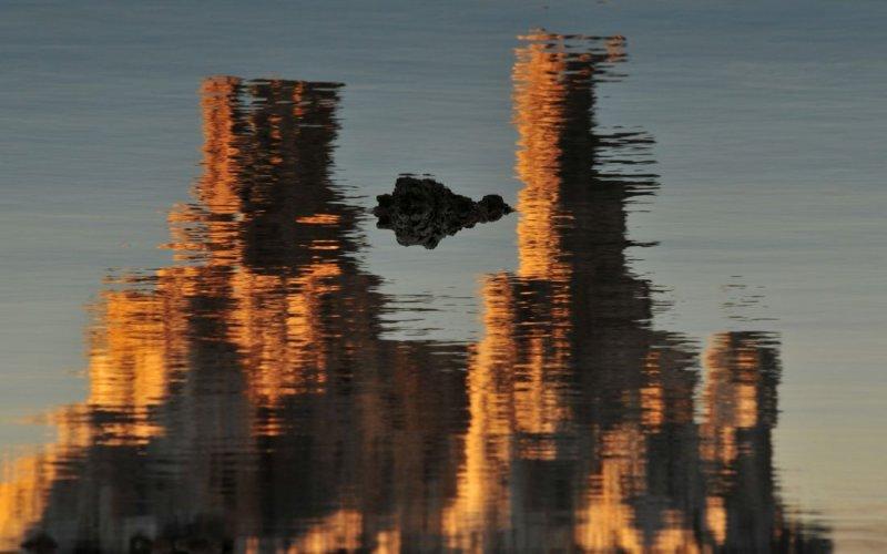 Mono Lake in Reflection, Flipped