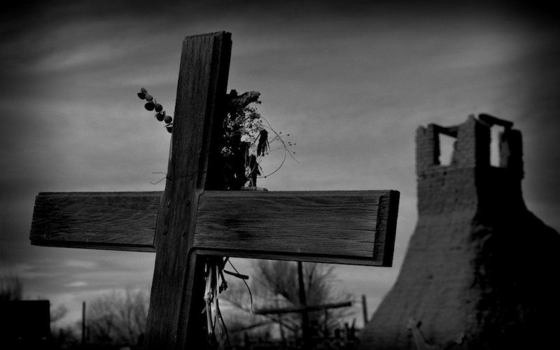 When Will We Ever Learn - The Taos Cemetery and the San Geronimo Church