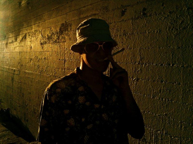 He Channels Johnny Depp Channeling Hunter Thompson