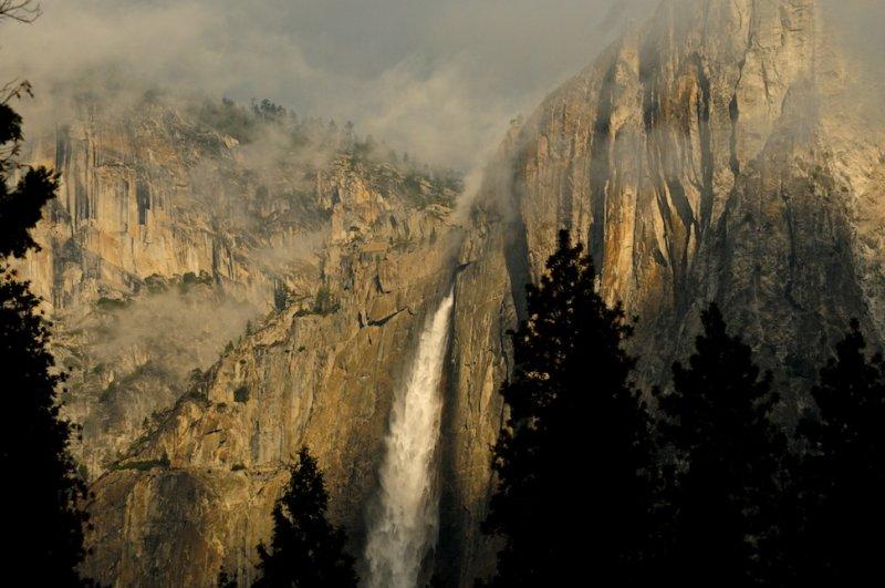 Morning Light on Upper Yosemite Falls