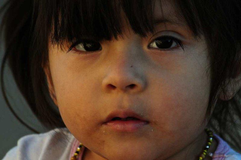 Girl at Acoma Pueblo, New Mexico