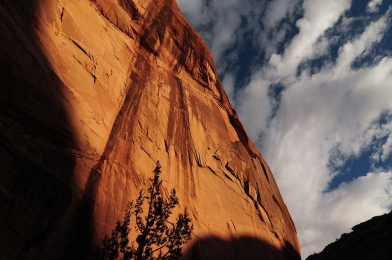 Cliffs of Sandstone, Canyon de Chelly
