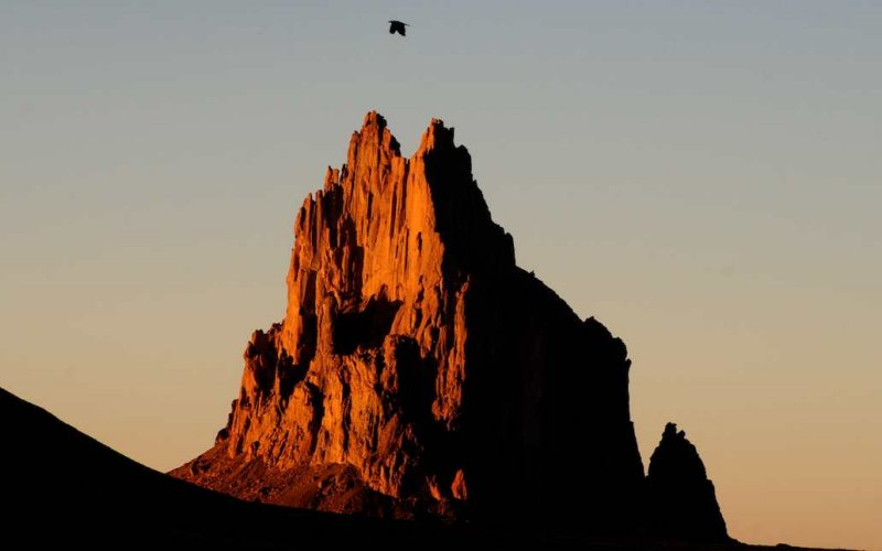 Shiprock and Raven