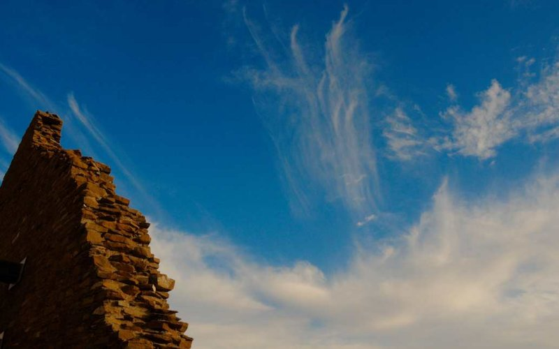 Ruins and Clouds, Chaco