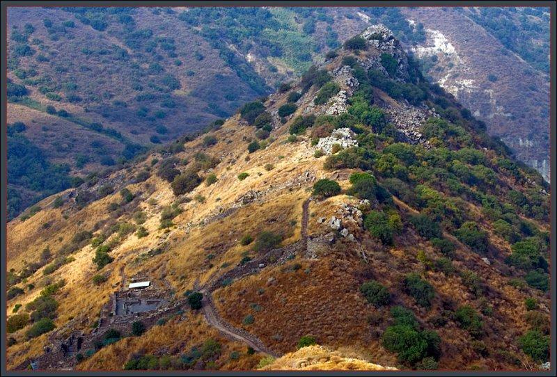 The ruins of Gamla