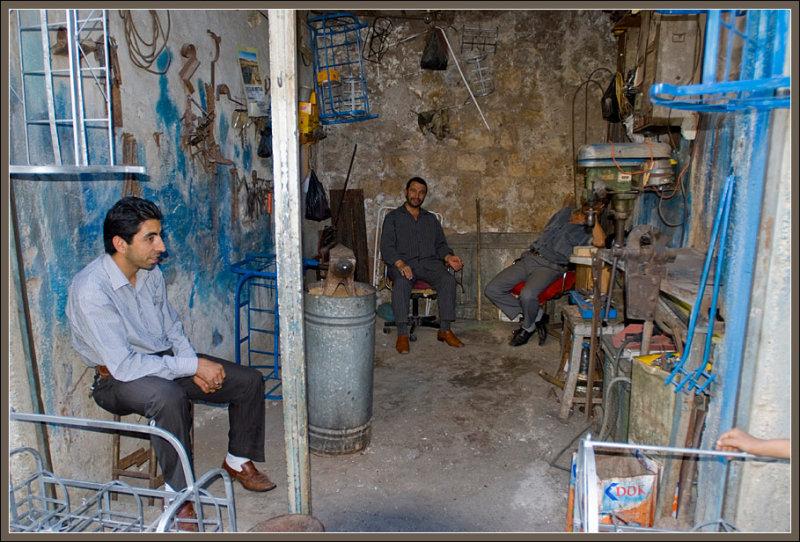 A blacksmith in Mardin
