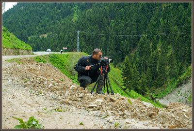 A fellow photographer