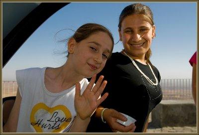 Two girls in Mardin