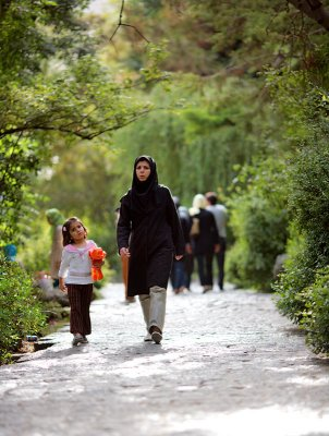 Mother and child - Tehran
