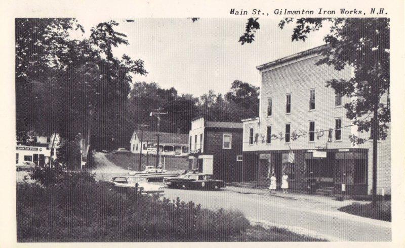 Gilmanton Iron Works - Main Street - Postmark 1962