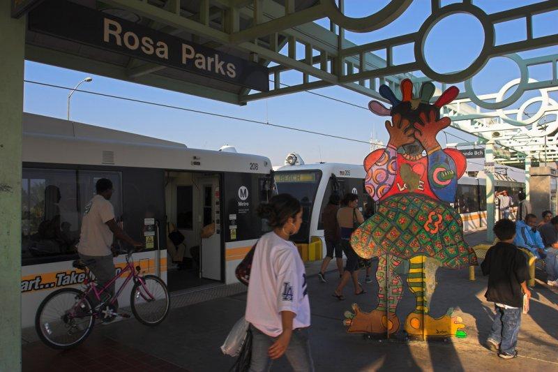 Rosa Parks Station