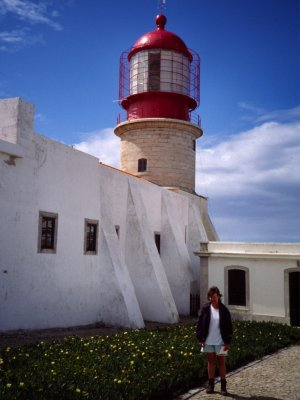 At the lighthouse
