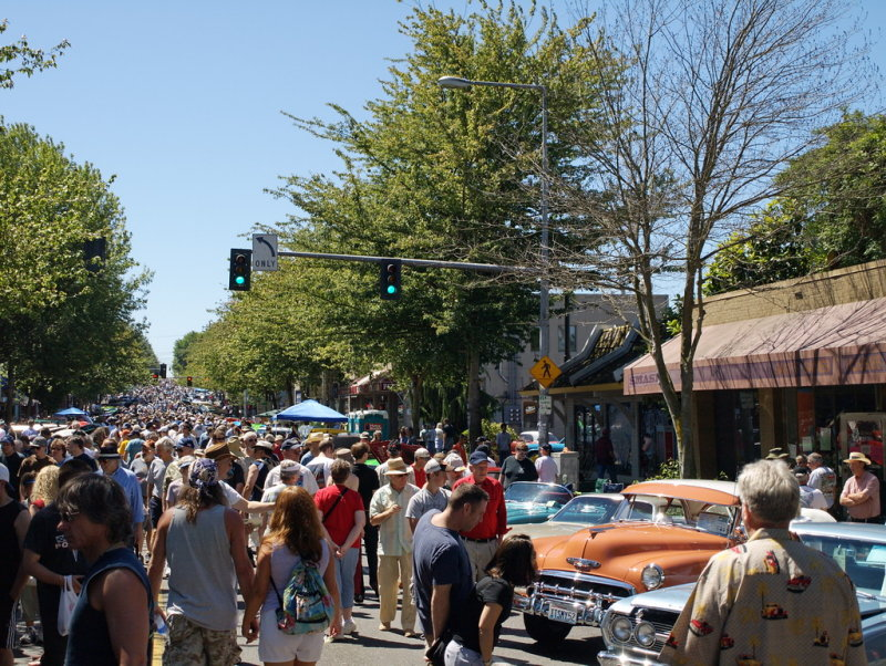 The 16th Annual Greenwood Car Show