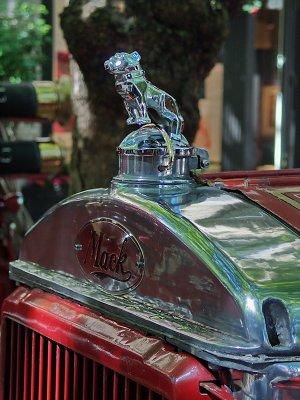 A Mack Bulldog on an old Seattle fire truck