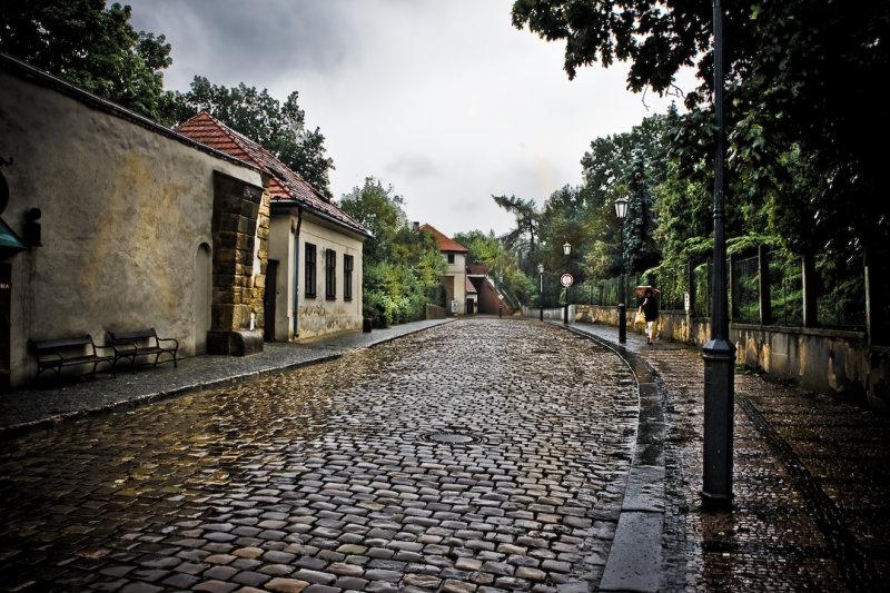 Clearing Rain, Prague