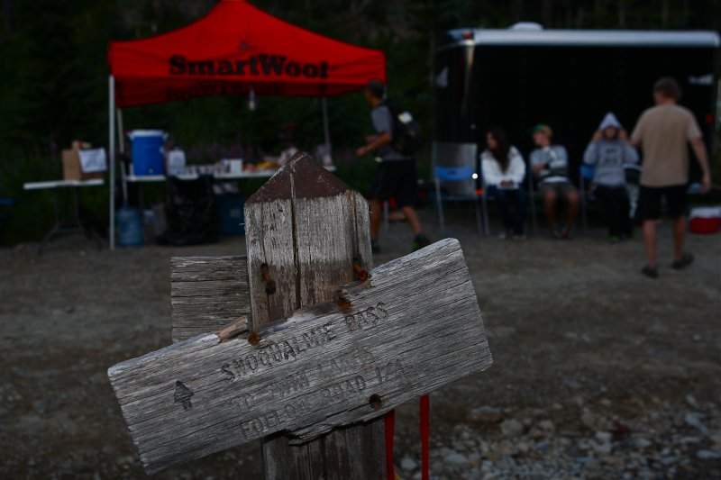 July<br>Aid Station on the PCT</br>