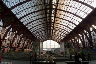 Antwerpe Central Station