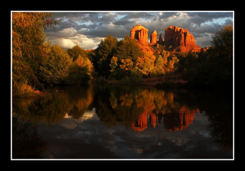 Autumn at Red Rock Crossing