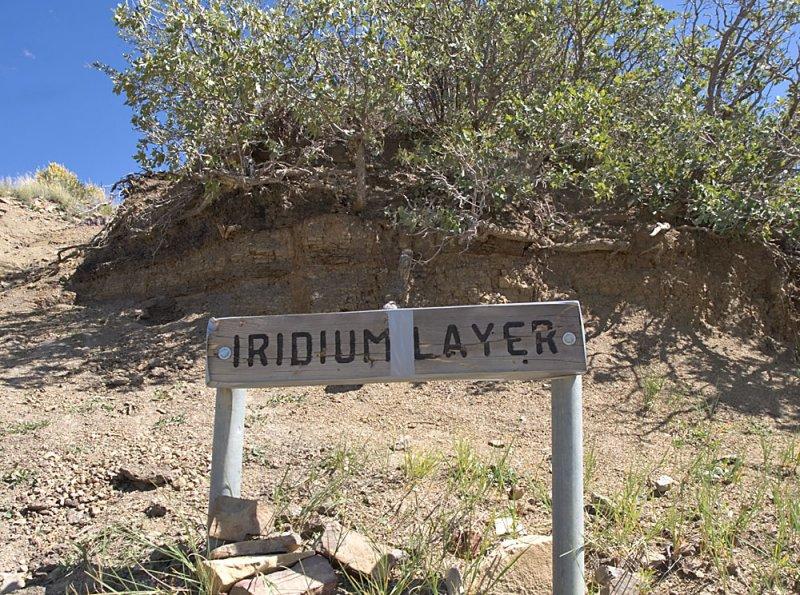 Iridium Layer duct taped