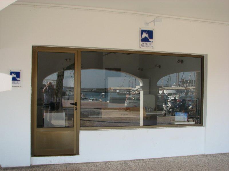 Astbury Formenteras Office at the Marina