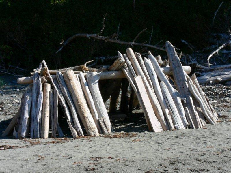 China Beach, near River Jordan on the west coast of Vancouver Island