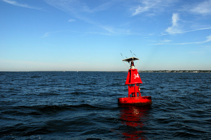 red buoy 34