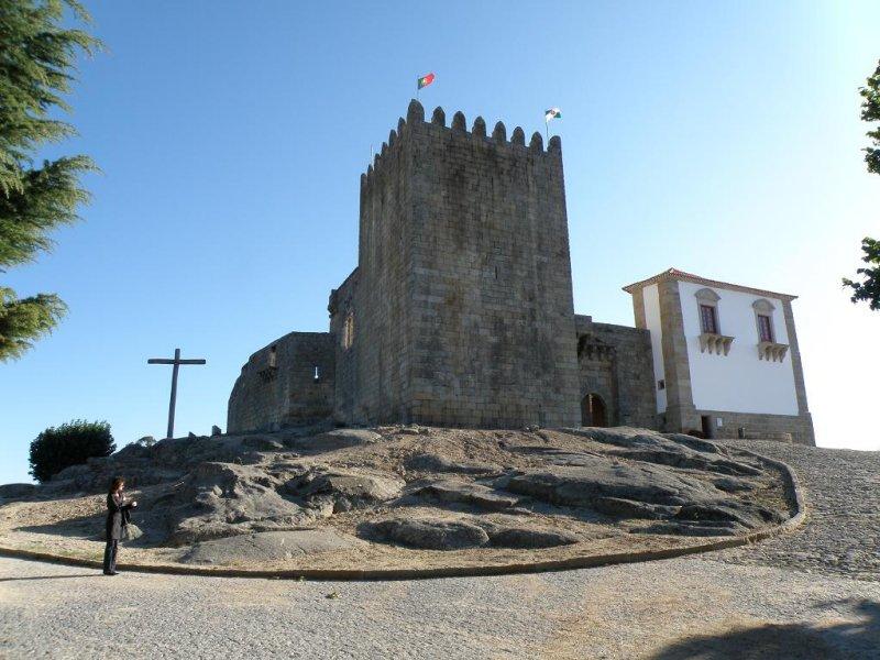 the castelo in Belmonte, in the Beira Alta