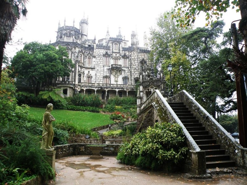 the Quinta da Regaleira in Sintra