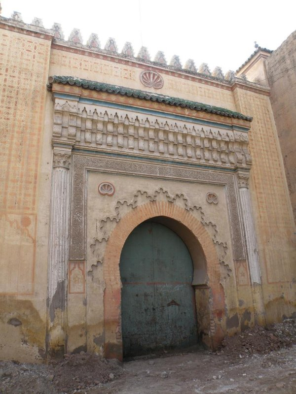 an old bab (medina gate)