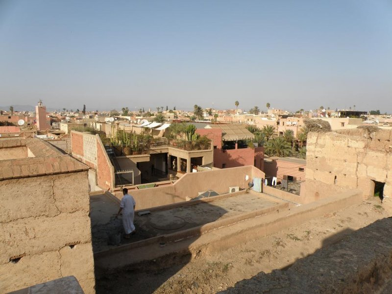 ...and out over the medina
