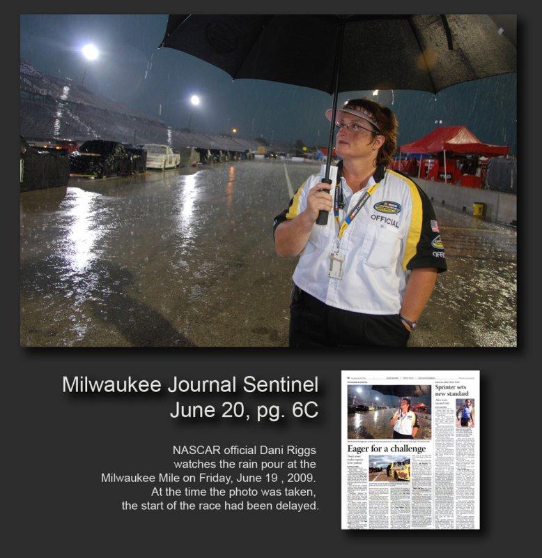 NASCAR rainout