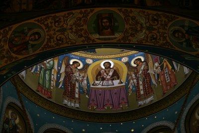 paintings in cupola