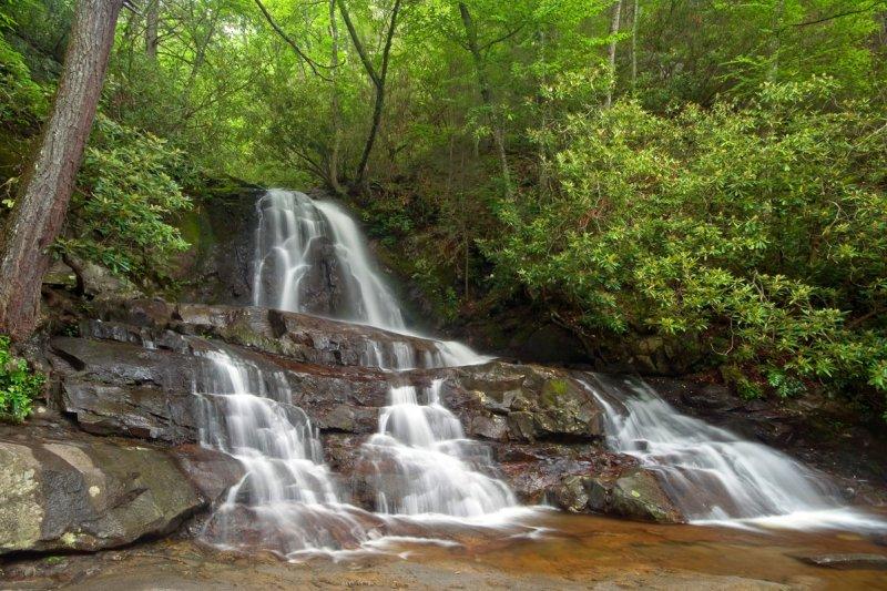 Laural Creek Falls