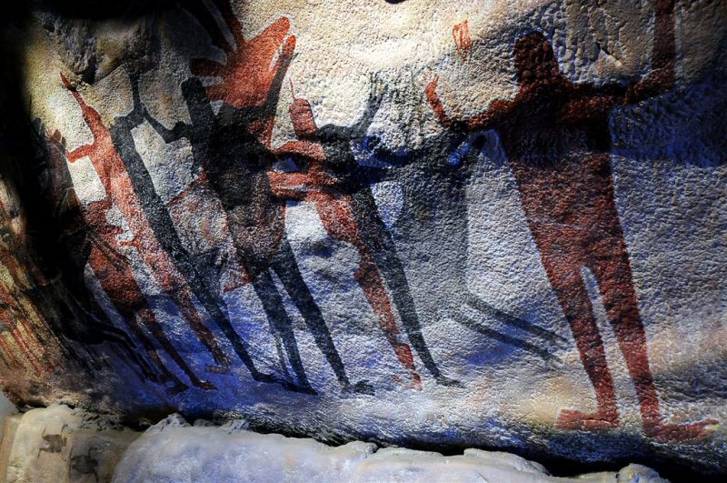 Ancient Toltec Murals, Taxco Caves