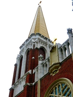 Saint Casimir Church Steeple and Detail