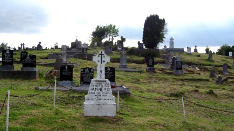 Mass grave in Kenmare