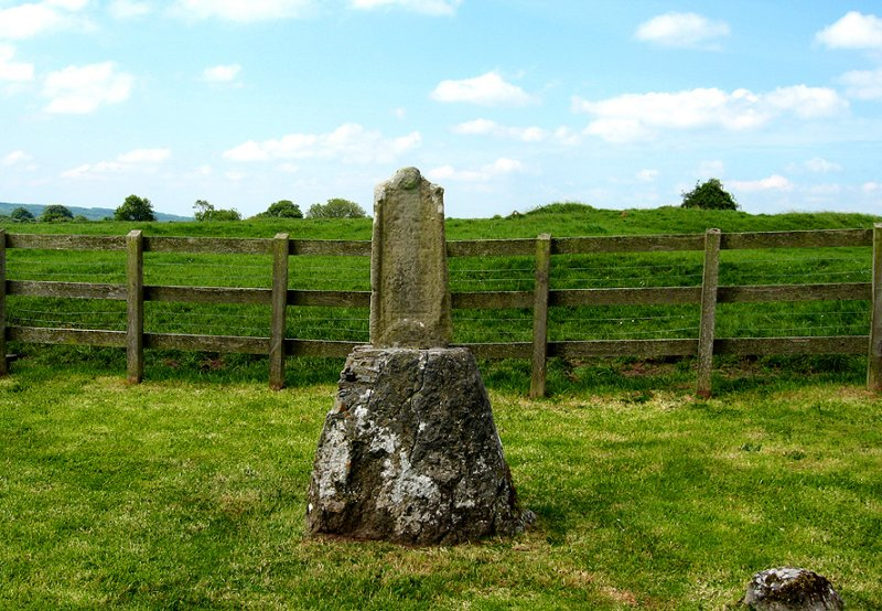Witch stone on the Holy Island